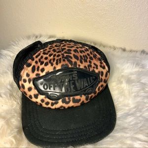 Cheetah Vans Hat